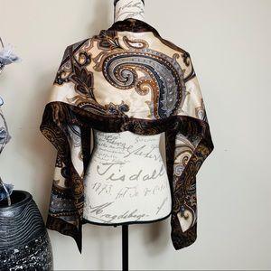Anne Klein 100% silk scarf
